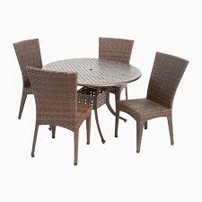 Selling Home Decor Best Selling Home Decor Brooke Round Outdoor Dining Set Lowe U0027s