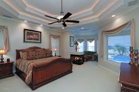 Coffered Ceiling Lighting by Traditional Master Bedroom With Double Coffered Ceiling U0026 Ceiling