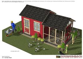 Garden Shed Plan Home Garden Plans Cb202 Combo Chicken Coop Garden Shed Plans