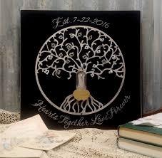 Personalized Wedding Plaque Lovelocks Personalized Tree Of Life Plaque U2013 Lovelocks