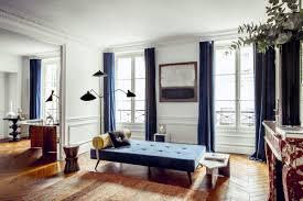 hilary swank u0027s paris apartment is a mid century modern dream