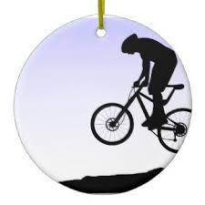mountain bike ornaments keepsake ornaments zazzle