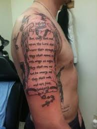 literary scroll on arm photo 3 photo pictures and