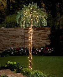 Tropical Garden Decor Large Lighted Palm Tree Tropical Outdoor Indoor Yard Garden Decor