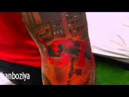 thierry henry and new tattoo on the way hollywood stars youtube