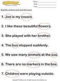 circling collective nouns worksheet english nouns pinterest