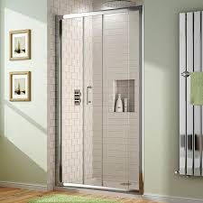 1000 x 700 mm sliding glass shower door alcove enclosure cubicle