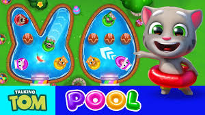 talking easter eggs talking tom pool easter egg hunt new feature