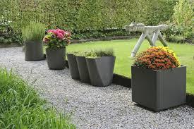 pots in gardens ideas garden pots and planters cheap home outdoor decoration
