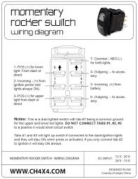 warn rocker switch wiring diagram free picture warn wiring diagrams