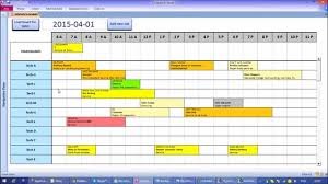 task planner template microsoft access interactive work load and capacity planner youtube