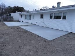 Patio Foundation Chesapeake Concrete Slab Foundation And Patio Addition Mullins