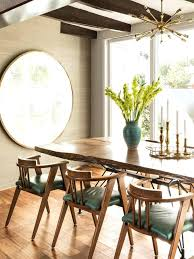 Mirror Over Dining Room Table - dining table mirror above dining room table height bassett