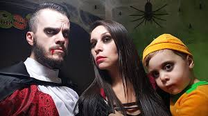 halloween special vampires pumpkins and spiders horror family