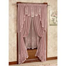 awesome walmart kitchen curtains inside black and valances window