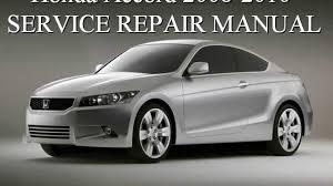 honda accord 1998 1999 2000 2001 2002 repair manual youtube