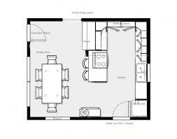 kitchen with island floor plans kitchen dining floor plans design ideas 2017 2018