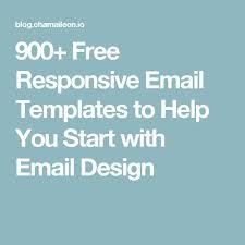 25 melhores ideias de free responsive email templates no