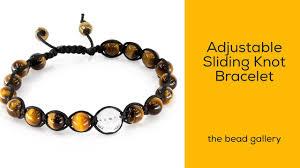 adjustable bead bracelet images Adjustable sliding knot bracelet feng shui style at the bead jpg