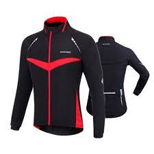 thermal cycling jacket 2018 thermal cycling jacket men winter warm up fleece bicycle