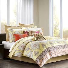 echo colorful kilim full comforter set yellow multi