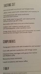 tasting menu u003e yes picture of white rabbit moscow tripadvisor