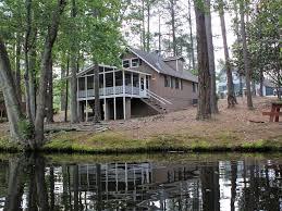 cozy lakefront chalet near callaway gardens vrbo