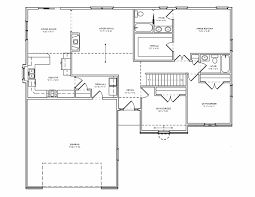 Single Floor 3 Bhk House Plans by Home Design 3 Bedroom Bungalow House Floor Plans Designs Single