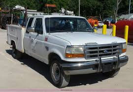 Ford F250 Service Truck - 1997 ford f250 super duty supercab utility truck item k718