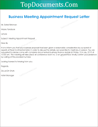 appointment letter docx business format formal how write meeting