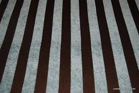 Striped Drapery Fabric Wb146x Light Blue And Chocolate Brown Stripe Chenille Velvet