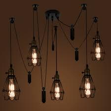 five light pendant wrought iron style adjustable five light multi light pendant with