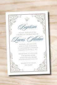 Baptism Invitations Free Printable Christening Fancy Baptism Custom Baptism Invitation Christening