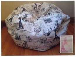 bean bag chair cover paris reader u0027s nest bean bag chair