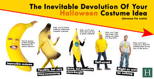 Banana Halloween Costume Inevitable Devolution Halloween Costume Idea Huffpost