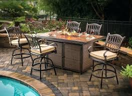 Bar Height Patio Dining Set Ideas Bar Height Patio Table And Chairs For 69 Bar Height Garden