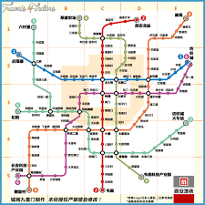 map of xi an xi an subway map travelsfinders