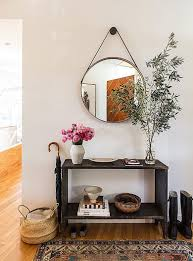 Entry Way Table Entryway Table With Mirror 138 Cute Interior And Weathered Vintage