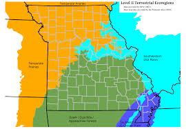 Southeast Us Map Reference Map Of Missouri Usa Nations Online Project Missouri