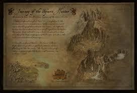 Black Temple Map Portfolio Fantasy Maps