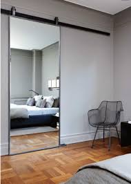 Bedroom Barn Door Bedroom Mirror Designs That Reflect Personality