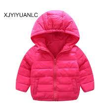 New Ná ¯ o Khoác trẠem quần áo Bé gái thá i trang in b´ng coat Kids