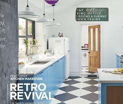 real homes october 2017 issue retro revival sustainable kitchens