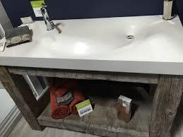 home decor reclaimed wood bathroom vanity bronze kitchen sink