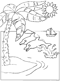 coloring pictures of a palm tree palm tree coloring pages for kids coloring home