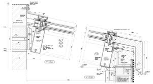 Schuco Curtain Wall Systems Gallery 3d Facade Curtain Wall Detailing 2d Drafting Structural