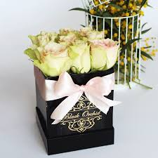 roses in the box flowers delivery black orchid flower boutique