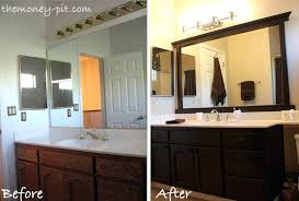 Custom Bathroom Mirror Custom Bathroom Mirrors Framed Framed Bathroom Mirrors Also