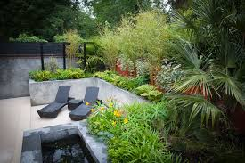 the garden design brief was to provide clients with a courtyard