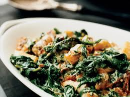 creamed spinach and parsnips recipe grace parisi food wine